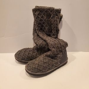 Ugg Lattice Cardy Boots Sz 8